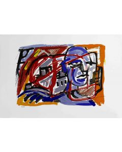 Dario Ballantini, Limite Massimo, serigrafia, 45x64 cm, 2007