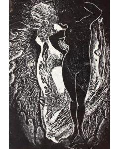 Max Ernst, Mr Knife and Miss Fork, fotogramma, 23x30 cm, 1931