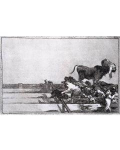 Francisco Goya, Desgracias, acquaforte, 32x43,5 cm