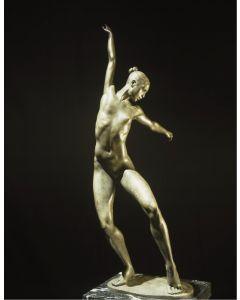 Kossuth Wolfgang Alexander, Alessia, bronzo, h 56 cm, 2002