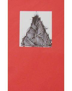 Emilio Scanavino, Senza Titolo, serigrafia, 70x50 cm