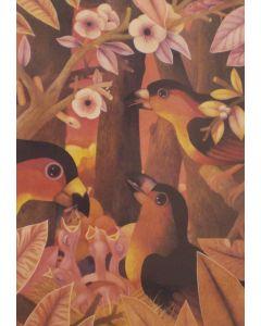 Mario Tapía, Il nido, multiplo, 70x50 cm