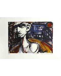 Dario Ballantini, Triste Realtà, litografia, 45x64 cm, 2007