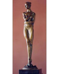 Kossuth Wolfgang Alexander, Francesca, bronzo, 36 cm, 2004