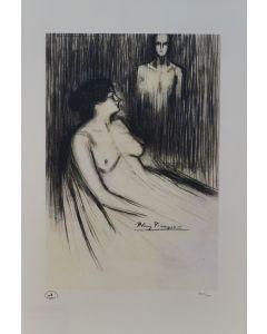 Pablo Picasso, Senza titolo, serigrafia, 35x45 cm