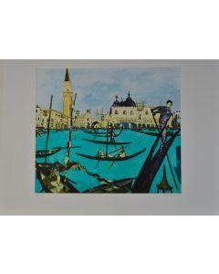 Remo Brindisi, Venezia, serigrafia, 60x80 cm