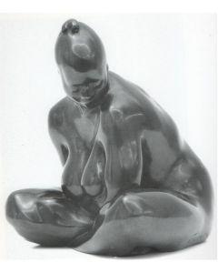 Kossuth Wolfgang Alexander, Pomona, bronzo, h 15 cm, 1991