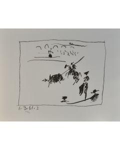 Pablo Picasso, La Pique, litografia, 50x65 cm
