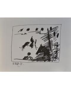 Pablo Picasso, Jeu de la Cape, litografia, 50x65 cm