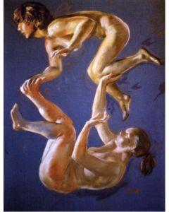 Wolfgang Alexander Kossuth, Studio, pastelli, 90x70 cm, 2005