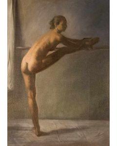 Wolfgang Alexander Kossuth, Francesca, Olio su tela, 50x70 cm