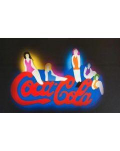 Marco Lodola, Coca Cola, litografia, 34x48 cm
