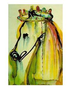 Salvador Dalì, Il cavallo di Caligola, litografia, 36x56 cm tratta da Les Chevaux de Dalì, 1970-72