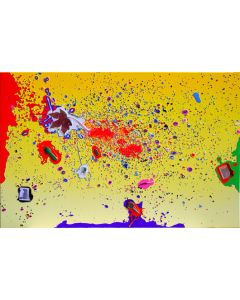 Renzo Nucara, Resinfilm 257G, serigrafia materica, 60x92 cm