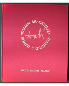 Salvador Dalì, Romeo e Giulietta, Libro Completo 1975