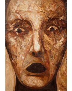 Marino Benigna, Infinito, olio su tela, 70x100 cm, 2012
