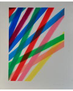 Piero Dorazio, Senza titolo, serigrafia, 95,5x77,5 cm, 1990