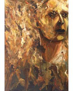 Marino Benigna, Senza titolo olio su tela, 100x70 cm