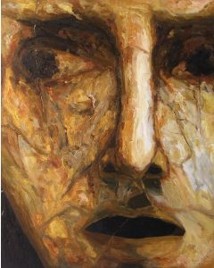 Marino Benigna, Senza titolo, olio su tela, 100x80 cm