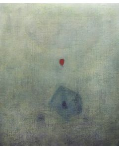 Luca Bonfanti, Enigmi alieni, acrilico su tela, 100x120 cm