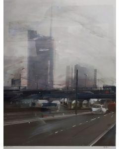 Alessandro Russo, Milano 2013 II, retouchè, 106x77 cm