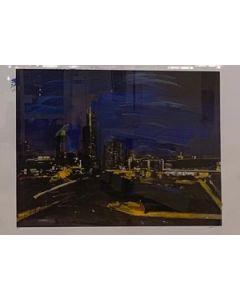 Alessandro Russo, Milano di notte 2014, retouché, 106x77 cm