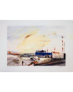 Alessandro Russo, Orio al Serio, retouchè, 46x32 cm