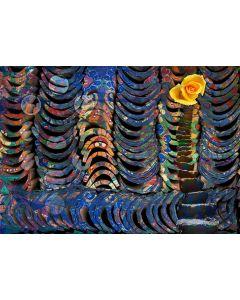 Norma Picciotto, Nella settimana, fotografia con elaborazione digitale, stampa su Elicobond, 100x70 cm