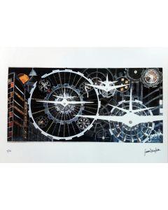 Simona Della Bella, Viaggio nel tempo, retouchè, 45x32 cm