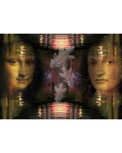 Norma Picciotto, Mona Lisa, fotografia con elaborazione digitale, 30x40 cm