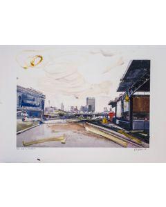 Alessandro Russo, Da stazione Garibaldi, retouchè, 46x32 cm