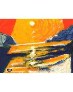 Togo, Mediterraneo, olio su tela, 30x40 cm