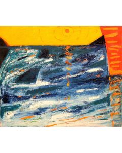 Togo, Mediterraneo 5, olio su tela, 50x60 cm