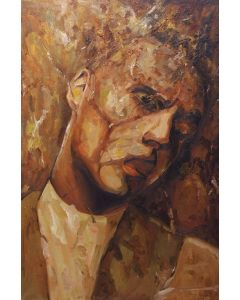 Marino Benigna, Senza titolo, olio su tela, 90x60 cm
