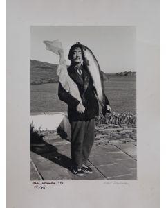Robert Descharnes, Dalì, le dur et le mau, fotografia in bianco e nero, 30x40 cm, 1959