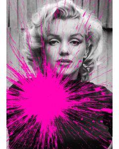 Julian T, Marilyn Monroe, stampa digitale su PVC, 80x60 cm, 2015