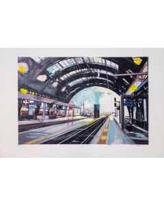 Alessandro Russo, Milano, Stazione Centrale 2014, retouchè, 46x32 cm