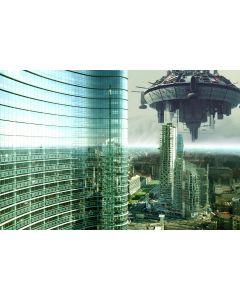 Marco Garofalo, Aliens Invasion, Elaborazione fotografica