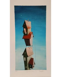 Diego Santini, Signorina l'Amo!, Giclée art print ritoccata a mano, 35x60  cm
