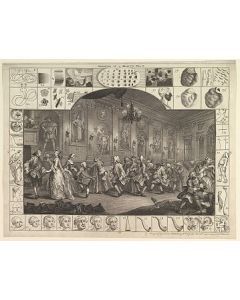 William Hogarth, Analysis of beauty, Plate II, acquaforte, 56x46cm