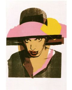 Andy Warhol, Ladies and Gentlemen, serigrafia, 110,5x72,4 cm