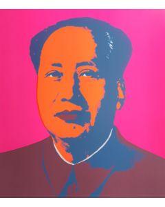 "Andy Warhol, Mao, serigrafia tratta dall'edizione ""Sunday B Morning"", 1970, 75x90 cm"