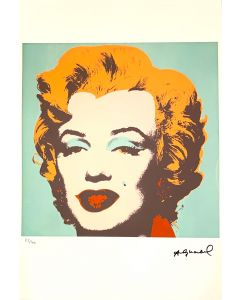 Andy Warhol, Marilyn, serigrafia su carta Arches France, 56,5x38 cm