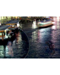 Norma Picciotto, Bagnanti, Renoir, fotografia con elaborazione digitale, 30x40 cm