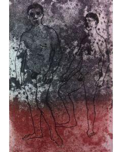Enrico Baj e Marco Valerio Marziale, Epigrammi, libro d'artista con due acqueforti originali