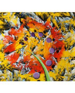 Renato Natale Chiesa, Periodo Orione, acrilico su tela, 83x88 cm