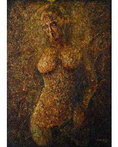 Marino Benigna, Estasi, olio su tela, 70x100 cm
