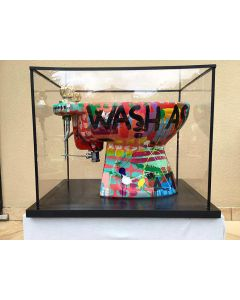 Andrew Tosh, Wash ass and other, h 48 cm, scultura, 2015