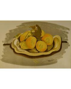 Georges Braque, Natura morta, litografia, 55x37 cm