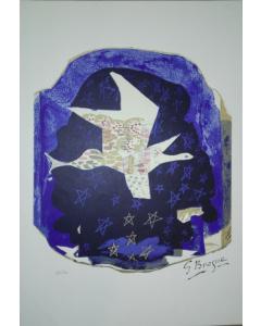 Georges Braque, Les Etoiles, litografia, 34x48 cm